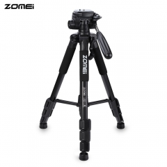 Zomei Q111 56 inch Lightweight Aluminum Tripod with Bag Black Q111