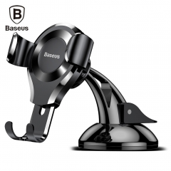 Baseus SUYL - XP Suction Gravity Car Bracket Black As picture