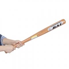 BAT Outdoor Sports Solid Wood Baseball Bat Fitness Equipment Wooden 63CM