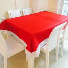 Christmas Items Christmas Decorations Super Long Tablecloths Red 178*132cm