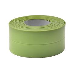 Self Adhesive Kitchen Ceramic Sticker Bathroom Wall Corner Line Sink Stickers 3.8*320cm green 3.7*320cm