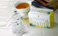 Aloe Blossom Herbal Tea white