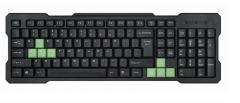 USB Cable Computer Keyboard Game Keys Waterproof Ultra - Thin Mini Keyboard Sound Friends SF - K003