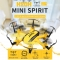 2.4G 4 Channel 6-Axis Gyro RC Hexacopter RTF Drone with CF Mode/One Key Return/3D Flip/Altitude Hold yellow H20H