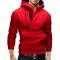 New men hoodies fleece warm pullovers sweatshirts mens hoodies jacket hip hop sportwear red 5xl