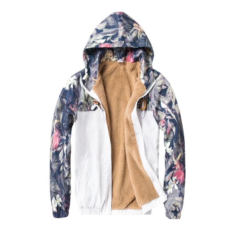 adc46c678bc57 Item specifics  Brand  Floral Bomber Jacket Men Hip Hop Slim Fit Flowers  Pilot Bomber Jacket Coat Men s Hooded Jackets