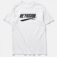 Fashion Hip Hop Men T Shirt Hi Street Short Sleeve O Neck T Shirts white s cotton