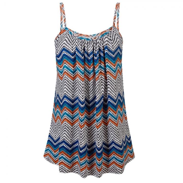 Women Boho Style Dress Sexy Printed Plus Size Casual Summer Beach Femme Robe  Vestidos Dress 5xl bc2c3bf85005