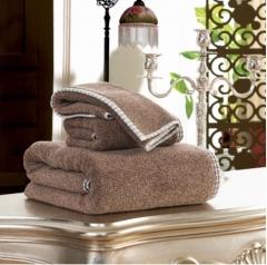 Island style towel set / High-quality cotton face towel,bath towel,square towel gray square towel 34*34cm