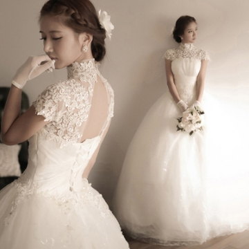 Kilimall: New Lace Halter Wedding Dress Womens Fashion Tulle Bridal ...