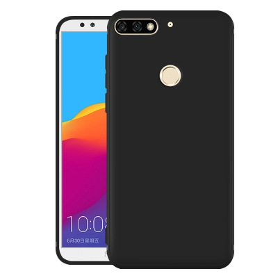 Huawei Y7 Prime (2018) Mobile Phone Case Black color 1.0 one piece