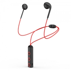 Earphones Red color