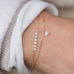 Bracelet gold color 1 piece