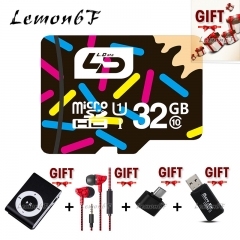 (Gift Packs) L6F Micro SD Card 32GB UHS-1 SD Card Class 10 Memory Card for Android Smartphone Camera color class 10 32gb sd/tf memory card