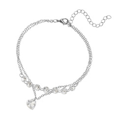 Bracelet silver color 1 piece