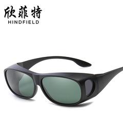 Sunglasses Black + Dark green one piece