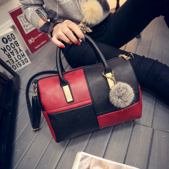 fashion women bag wine red color one piece