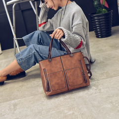 casual women bag brown color one piece
