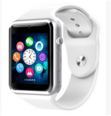 smart  watch Android bluetooth kennisgeving sport stappenteller ondersteuning whatsapp smartwatches white