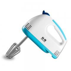 Electric Egg Beaters 5 Speeds Hand Mixer  Egg Beater Kitchen Tools bule one  size