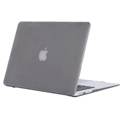 """13"""" Air Case, Hard Rubberized Protective Cover for 13.3 inch Macbook crystal-gray 13 Air (Model:A1369 or A1466 on the bottom of laptop)"""