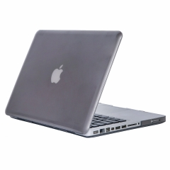 """15"""" Pro with CD-ROM Case, Hard Rubberized Protective Cover for 15.4 inch Macbook crystal-gray 15 Pro with CD-ROM drive (Model:A1286 on the bottom of laptop)"""