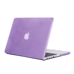 """13"""" Pro with Retina Case, Hard Rubberized Protective Cover for 13.3 inch Macbook crystal-purple 13 Pro with Retina Display (A1425 or A1502 on the bottom of laptop)"""