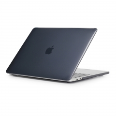 Hard Case Rubberized Protective Cover for 12 Macbook Air 11 13, Pro Retina 13 15 inch Crystal-Black 13 Air (Model:A1369 or A1466 on the bottom of laptop)