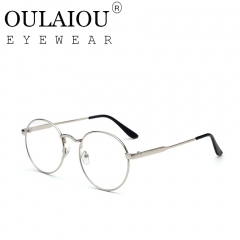 Oulaiou Fashion Accessories Anti-fatigue Popular Eyewear Reading Glasses OJ1630 silver