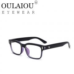Oulaiou Fashion Accessories Anti-fatigue Popular Eyewear Reading Glasses OJ15942 blue