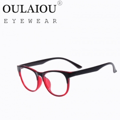 Oulaiou Fashion Accessories Anti-fatigue Popular Eyewear Reading Glasses OJ9343 red wine