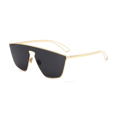 Oulaiou New Fashion Accessories Women's Anti - UV Sunglasses O666 black one size