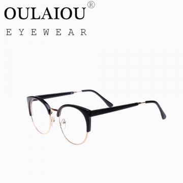 Oulaiou Fashion Accessories Anti-fatigue Popular Eyewear Frames Reading Glasses OJ29417 black