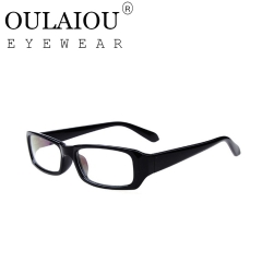 Oulaiou Fashion Accessories Anti-fatigue Popular Eyewear Frames Reading Glasses OJ21007 black