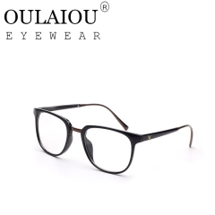Oulaiou Fashion Accessories Anti-fatigue Popular Eyewear Frames Reading Glasses OJ9591v black