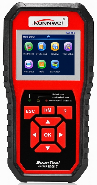 Ouchuangbo ODB2 Scanner Full OBDII Function Auto Diagnostic Tool Code Reader