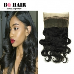 BQ HAIR Grade 8A Pre Plucked 360 Lace Frontal Closure Brazilian Human Hair Body Wave (10