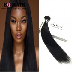 BQ HAIR Grade 8A Brazilian Virgin Hair 100% Human Hair Weave Straight Like Silk 100g/pc (10