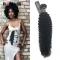 "BQ HAIR Grade 8A Brazilian 100% Unprocessed Virgin Human Hair Kinky Curly Style 1pc/100g (10""~28"") natural black 1 0 inch"