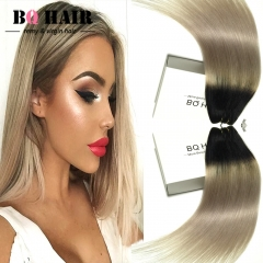 BQ HAIR Grade 8A 100% Human Hair Brazilian Straight Virgin Human Hair 1pc/100g 1B-Light Gray 1b-light grey 10 inch