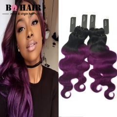 BQ HAIR 8A Brazilian 100% Virgin Human Hair Body Wave Like Silk 4pcs/400g Full Head Set 10