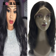 BQ HAIR Easy to Use 130% Density 100% Virgin Human Hair Body Wave Lace Front Wig (10