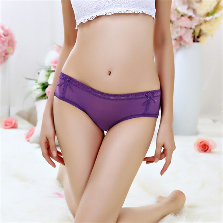 31aea2fcff67 10 Pcs Women Sexy G-String Thongs Briefs Women Lace Underwear Breathable  Lingerie Girls Panties