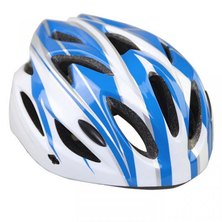 Super Light Men's Road Bike Bicycle Cycling Helmet , Sports Safety Mountain Bike Helmet Blue