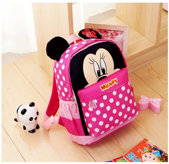 eda162c215 2017 Cartoon Mickey children backpacks kids kindergarten backpack ...