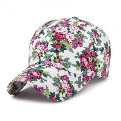 New Fashion Floral Baseball Cap Women Hats Spring Cap Snapback Summer for Women 02