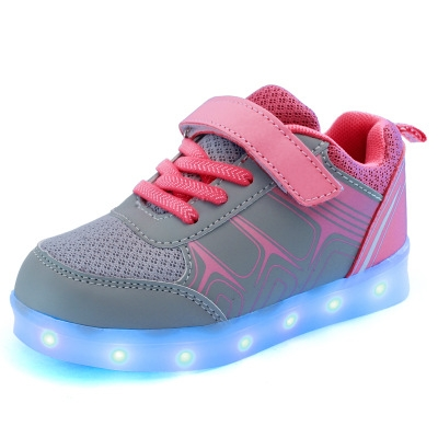 be9bb207f7d ... Boys Girls USB Charging Sport Shoes Casual Led Shoes gray 2.5  Product  No  663360. Item specifics  Brand