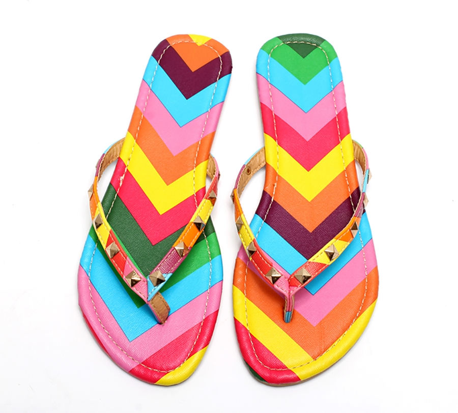 b5fa0644b Kilimall  Summer Style Shoes Women Sandals Fashion Rivets Flats Top ...