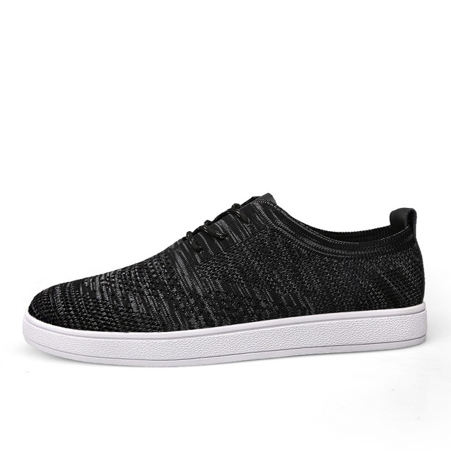 d1279df3d60 Fashion Fly Weave Breathable Men Causal Shoes New Design Superstar ...