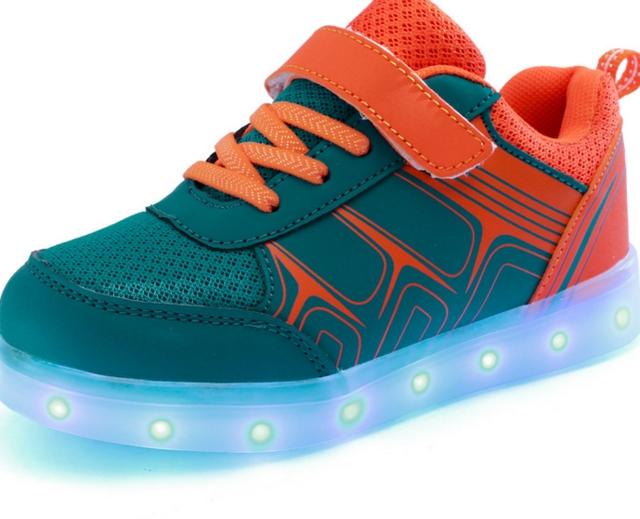 ... Light Shoes Children's Shoes Led USB Shoes Led Shoes Wholesale Sneaker orange us 4: Product No: 742722. Item specifics: Brand: